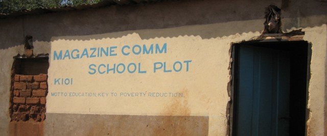 EDUCATION IS THE KEY TO POVERTY REDUCTION